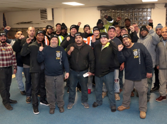 Workers at Intermodal Rail Company Vote to Join Teamsters