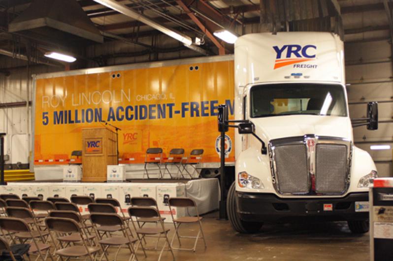 PHOTOS: Local 710 YRC Road Driver Roy Lincoln Reaches 5